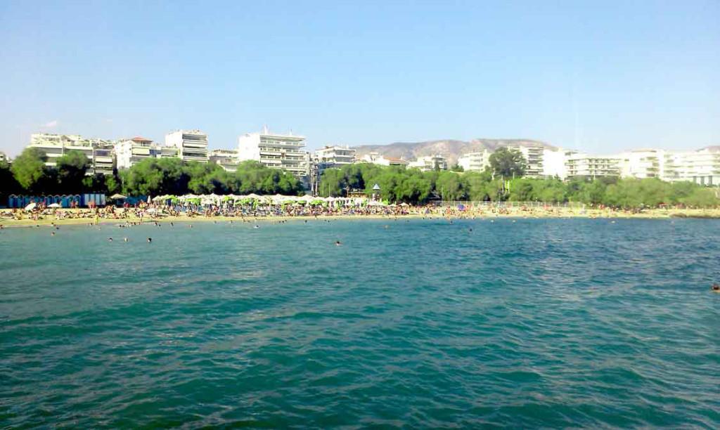 Alimos, Atina, Plaža, More