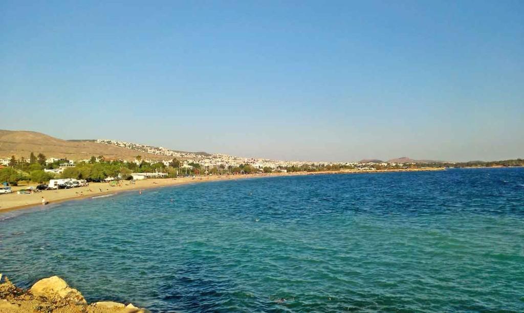 Atina, Glifada, Plaže, More