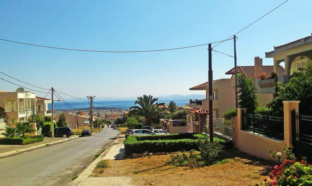 Pogled na more iz gornje Glifade