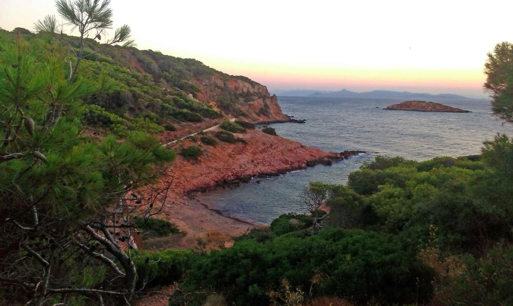 Atina, Vuljagmeni, Uvale, Plaže, More