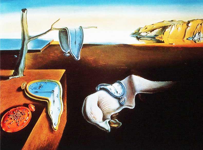 "Salvador Dali, ""The Persistence of Memory"""