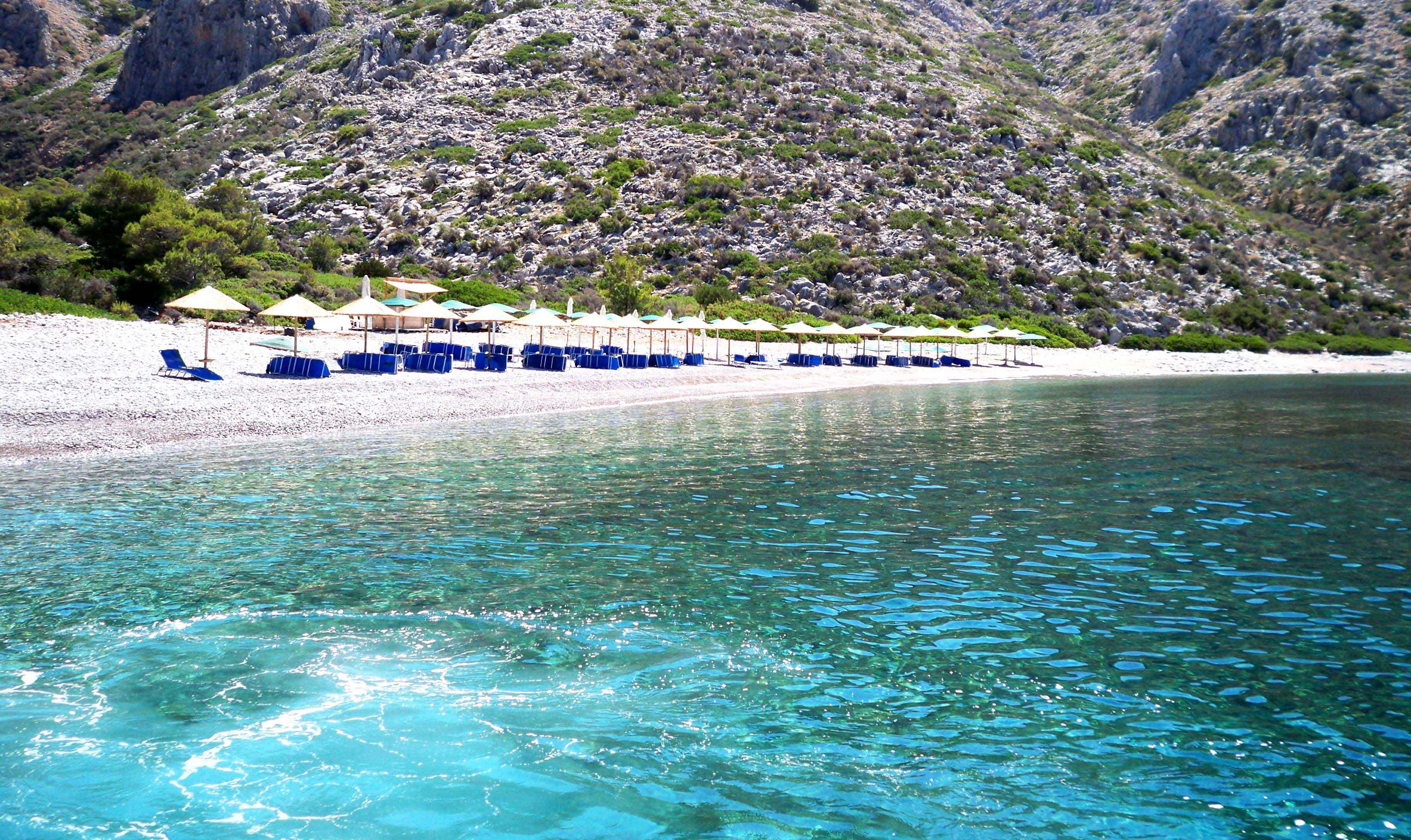 Najlepše plaže u Grčkoj: grčko ostrvo Hidra, plaža Agios Nikolaos
