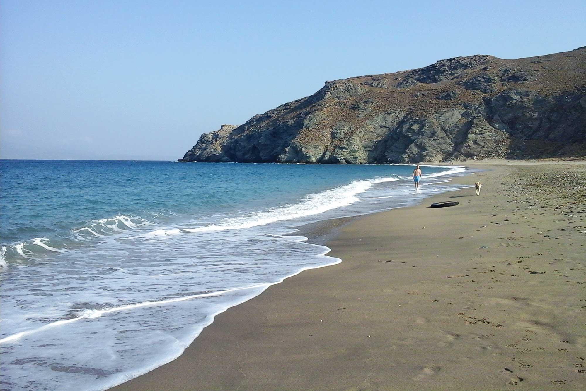 Grčko ostrvo Evia plaza Potami beach
