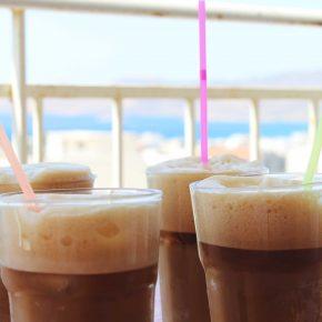 Ledena kafa grcki frape