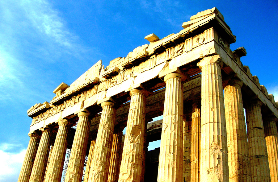 Partenon na atinskom Akropolju.