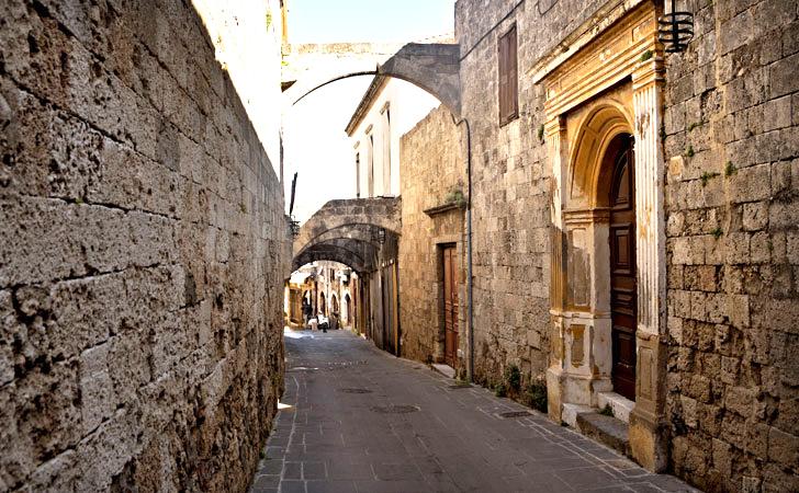 Grcka ostrva Rodos stari grad
